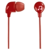 Happy Plugs Headphones In-Ear Red (7716)