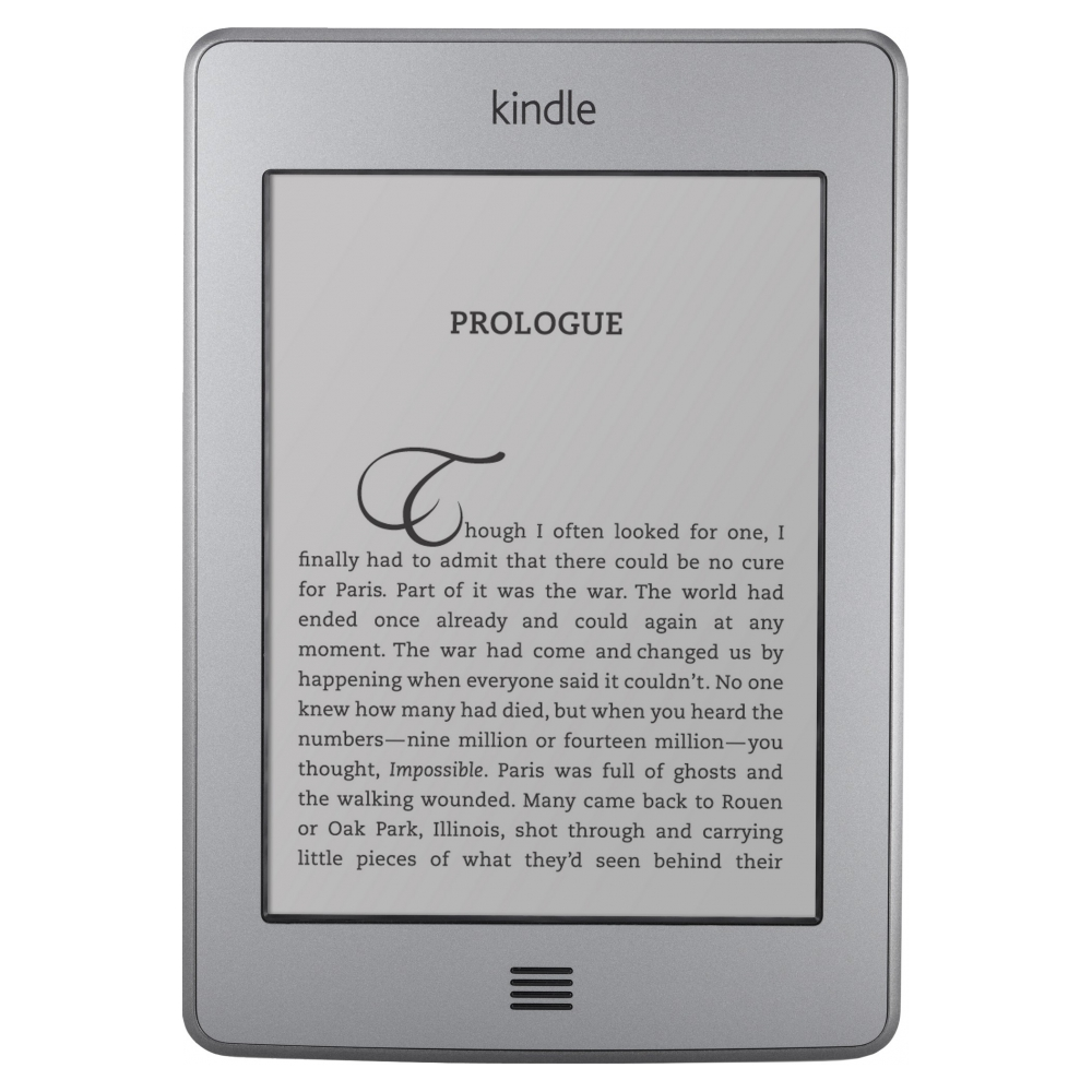 Электронная книга Amazon Kindle Touch (Б/У товар)