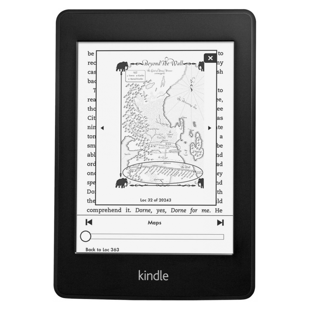 Электронная книга Amazon Kindle Paperwhite (2013) Refirbished