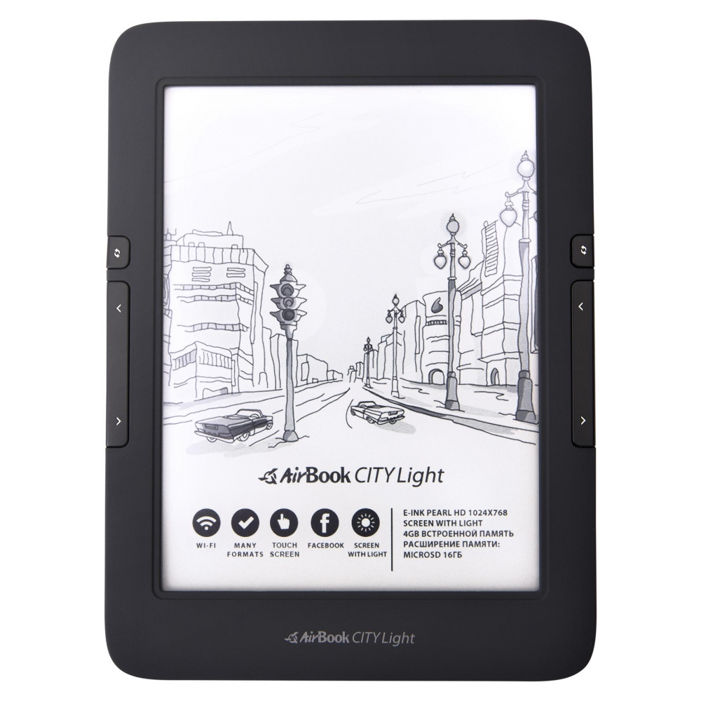 Электронная книга AirBook City Light Touch