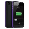 Зарядная станция Mophie Juice Pack Plus black/violet для iPhone 4/4S