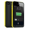 Зарядная станция Mophie Juice Pack Plus black/yellow для iPhone 4/4S