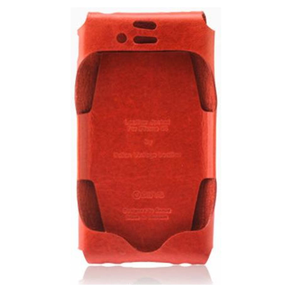 Чехол ZENUS iPhone 4/4S Leather Case 'Prestige' Italian Jacket Series - Orange
