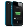Зарядная станция Mophie Juice Pack Plus black/blue для iPhone 4/4S