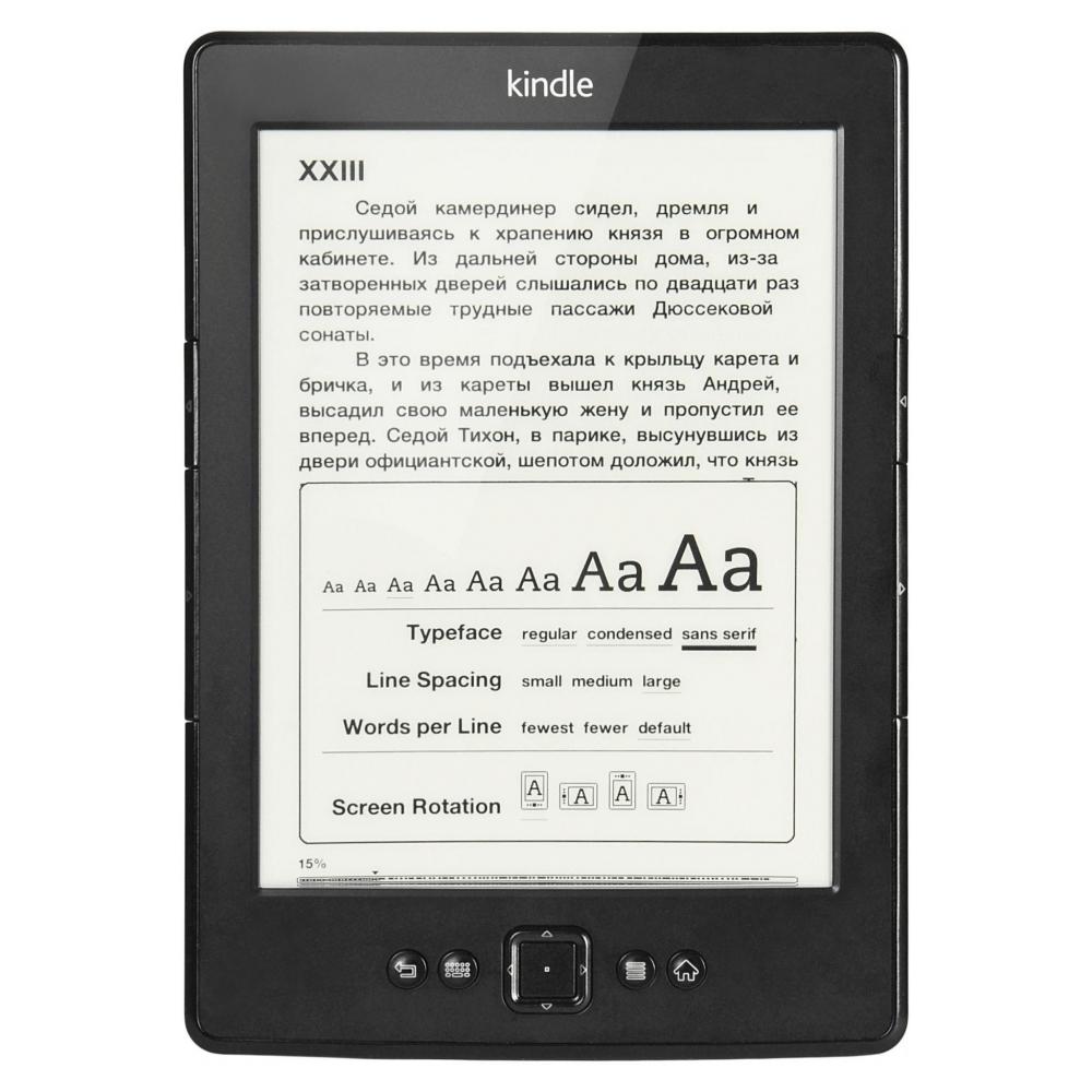 Электронная книга Amazon Kindle 5 Black Refurbished