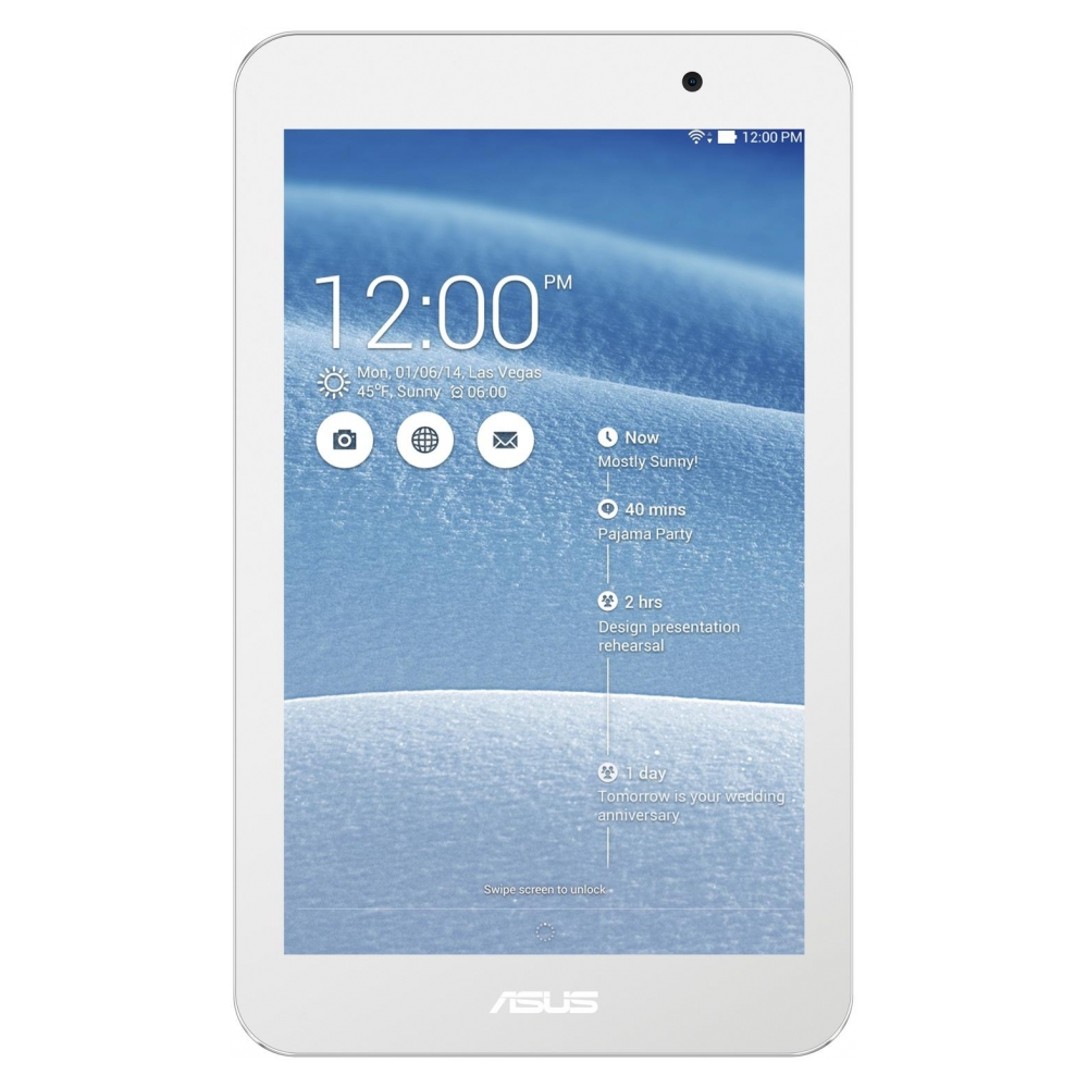 Планшет Asus MeMO Pad 7 16GB White (ME176CX)