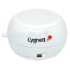 CYGNETT GrooveBassball, Mini bassball speaker для iPhones, iPods and other MP3 Players, Белый,