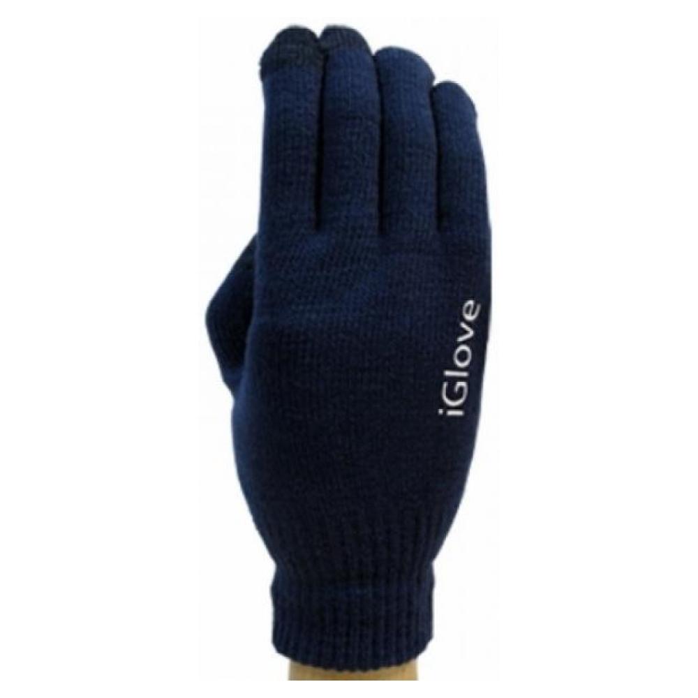 Перчатки для сенсорных экранов Touch iGloves Dark Blue