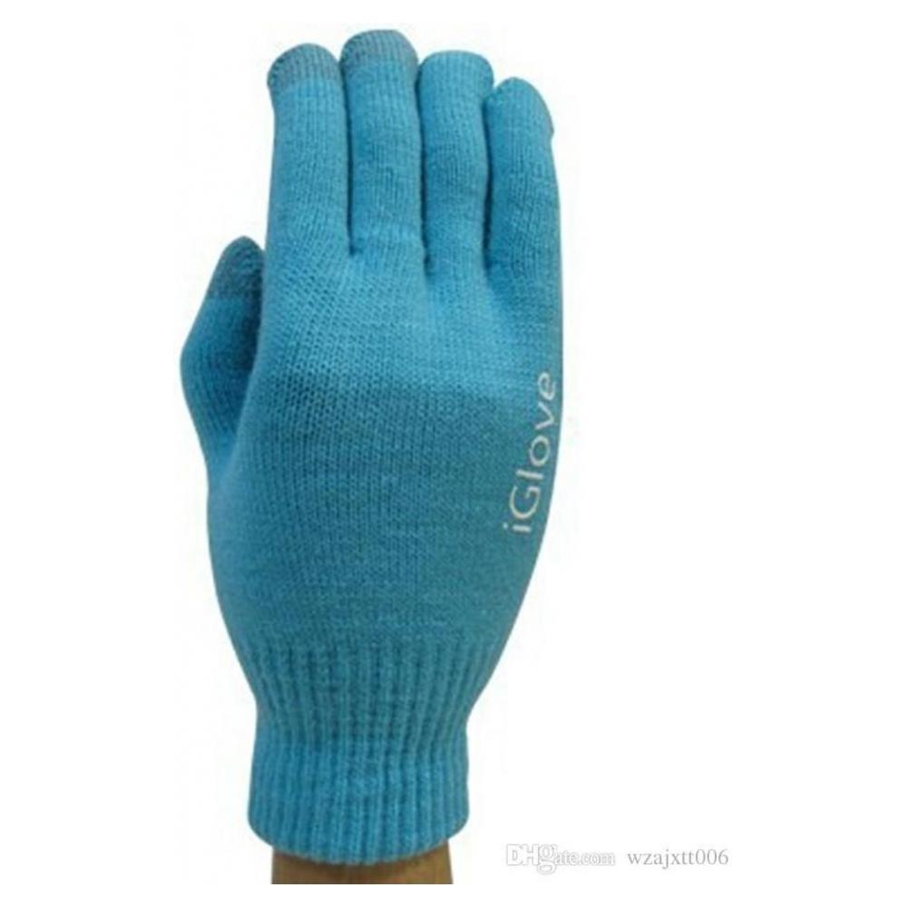 Перчатки для сенсорных экранов Touch iGloves Blue