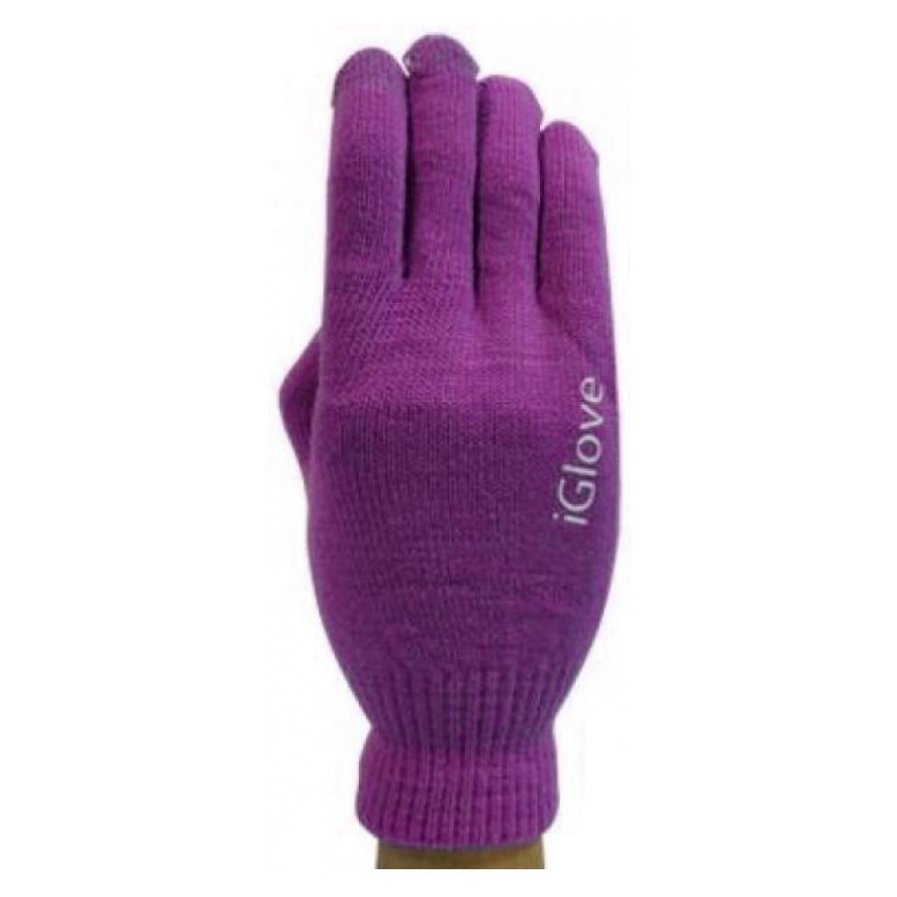 Перчатки для сенсорных экранов Touch iGloves Purple