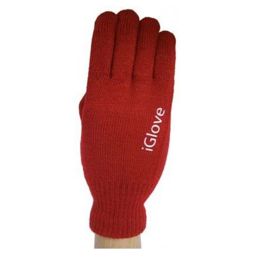 Перчатки для сенсорных экранов Touch iGloves Red