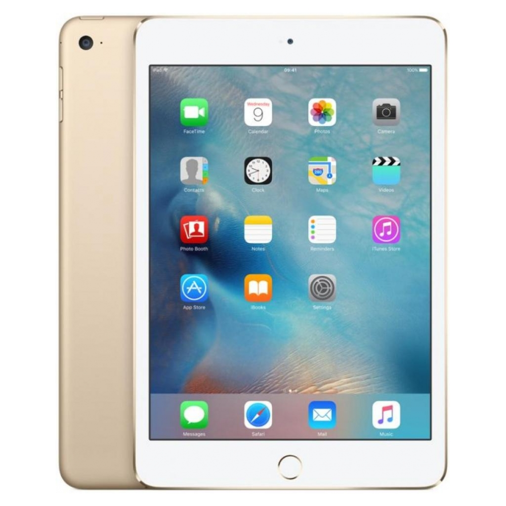 Планшет Apple iPad mini 4 Wi-Fi 128GB Gold (MK9Q2RK/A) UA UCRF