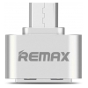 Remax OTG adapter (micro USB) Silver
