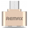Remax OTG adapter (micro USB) Gold