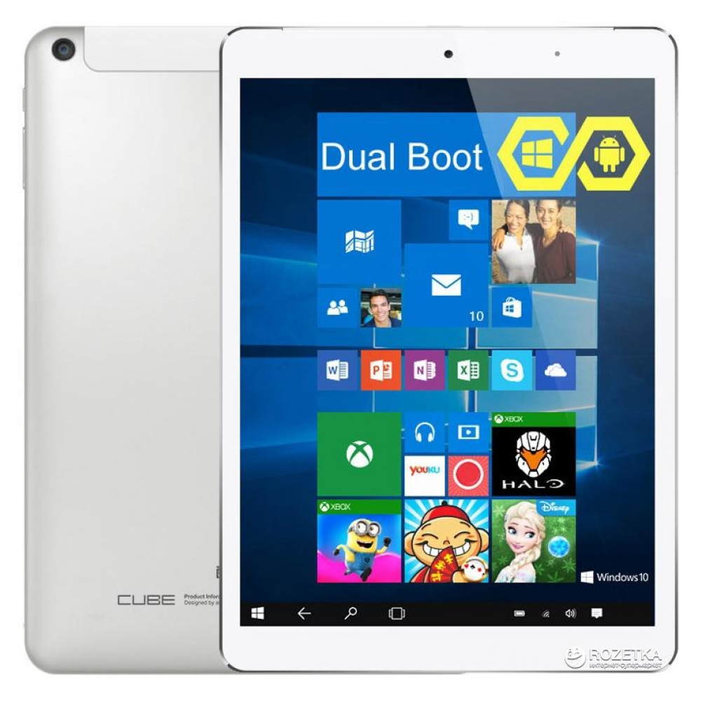 Планшет CUBE i6 Dual Boot 32GB White (U60GT-C4)