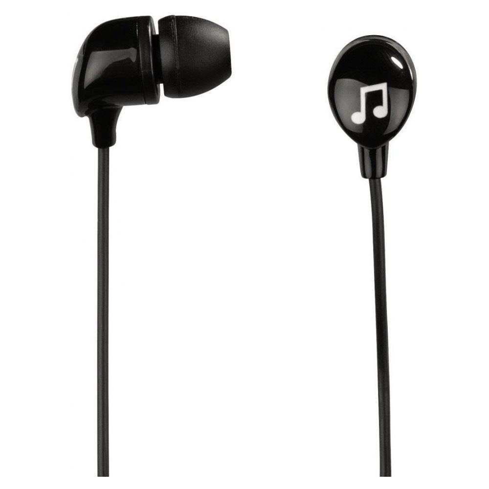 Наушники Happy Plugs Headphones In-Ear Black (7720)