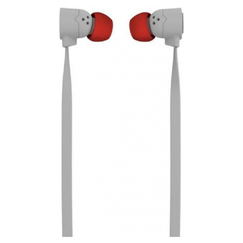 Наушники Coloud Pop Blocks In Ear Headphones Gray/Red/Gray (4091079)