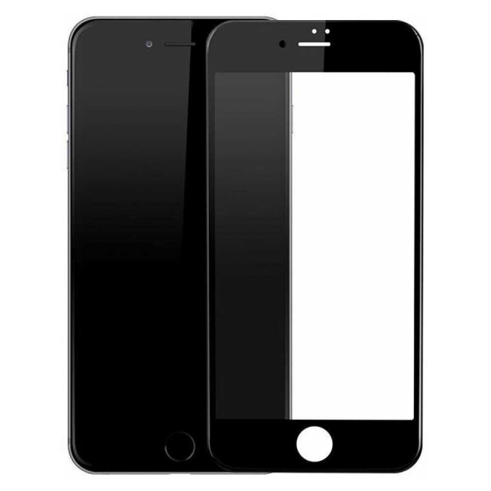 Защитное стекло Baseus Full Glass Anti-Blue Light для iPhone 7 Black