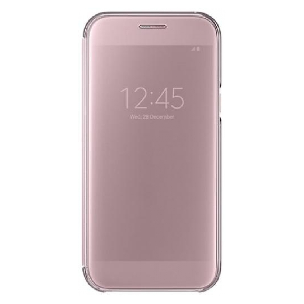 Чехол Samsung Clear View Cover A7 2017 (EF-ZA720CPEGRU) Pink