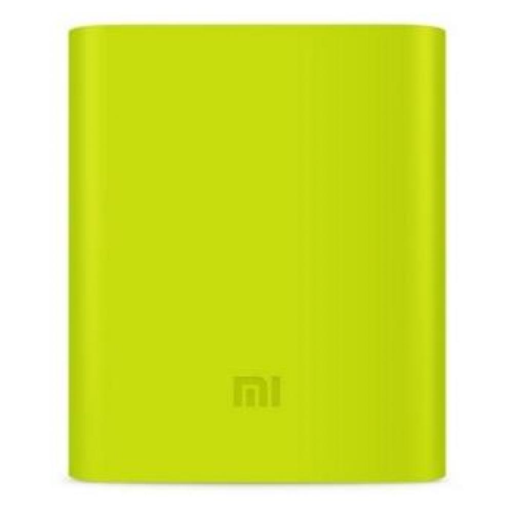 Силиконовый чехол для Xiaomi Power Bank V2 10000mAh Green