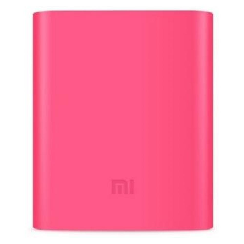 Силиконовый чехол для Xiaomi Power Bank V2 10000mAh Pink