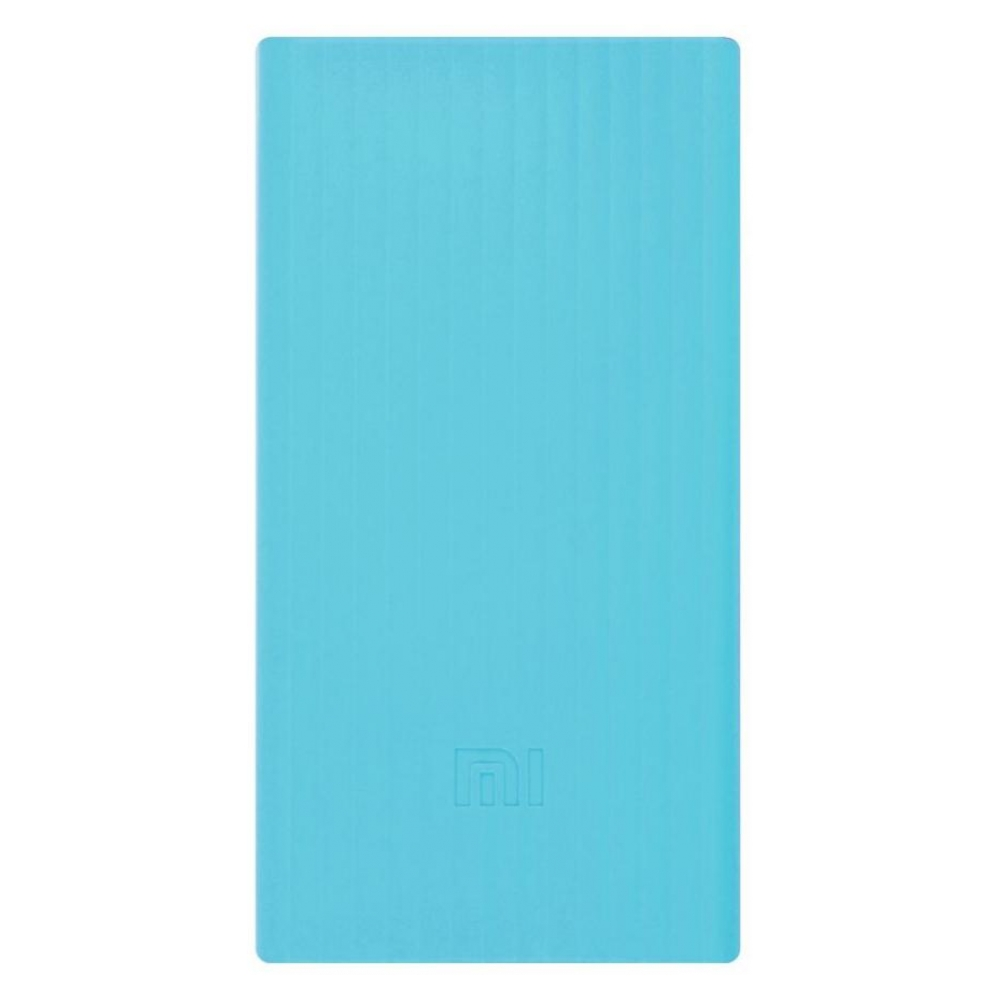 Силиконовый чехол для Xiaomi Power Bank V2 20000mAh Blue