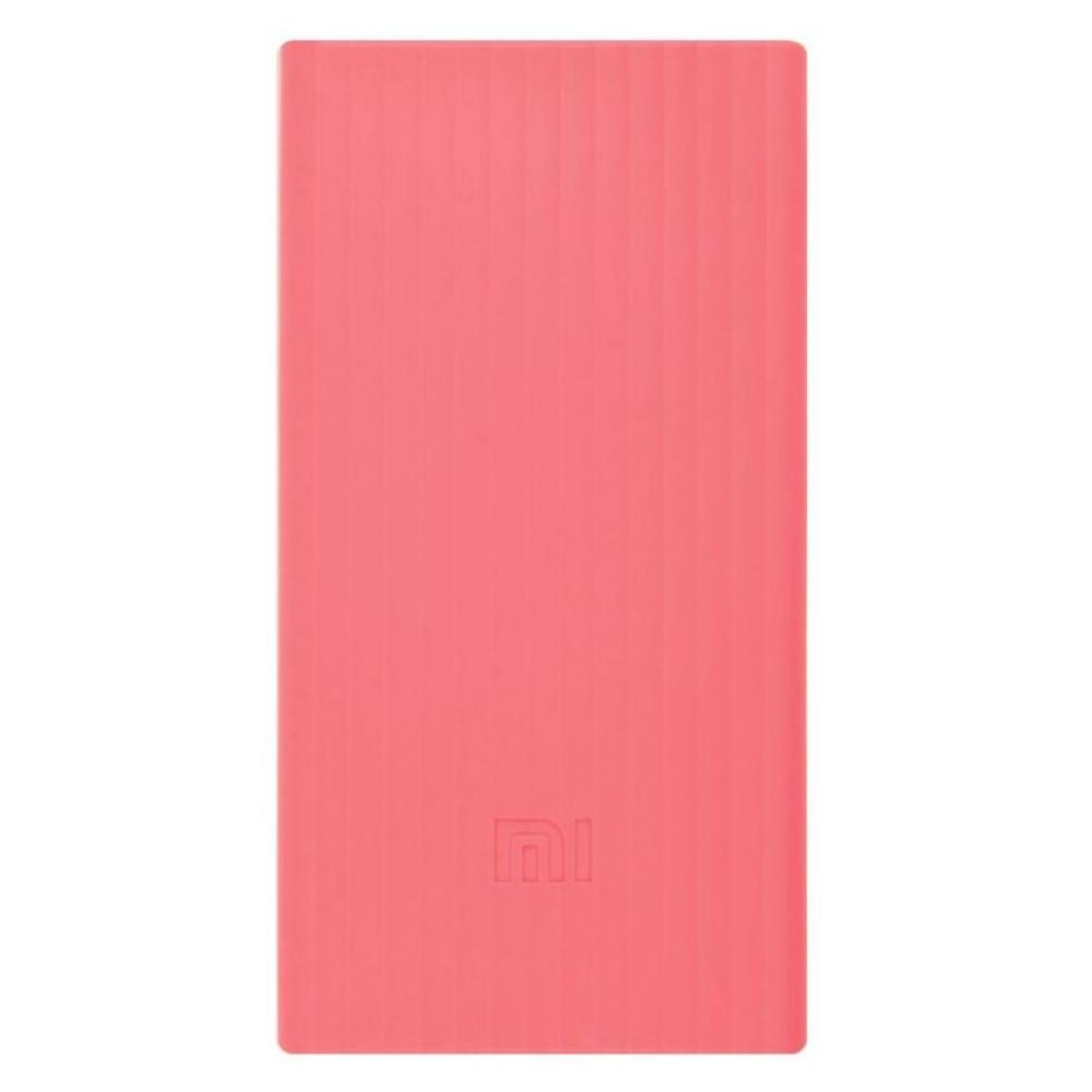 Силиконовый чехол для Xiaomi Power Bank V2 20000mAh Pink