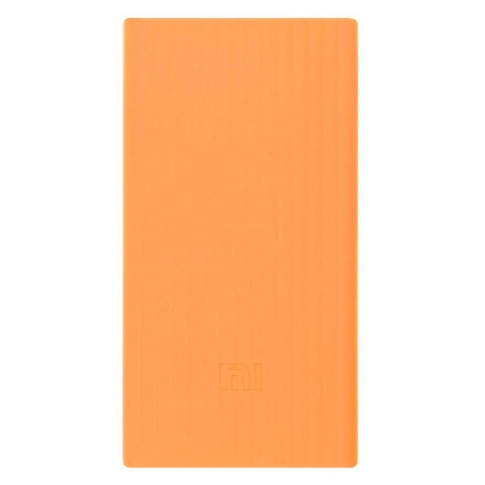 Силиконовый чехол для Xiaomi Power Bank V2 20000mAh Orange