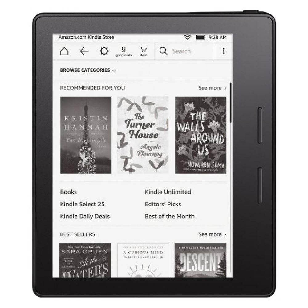 Электронная книга Amazon Kindle Oasis (without Cover) Certified Refurbished