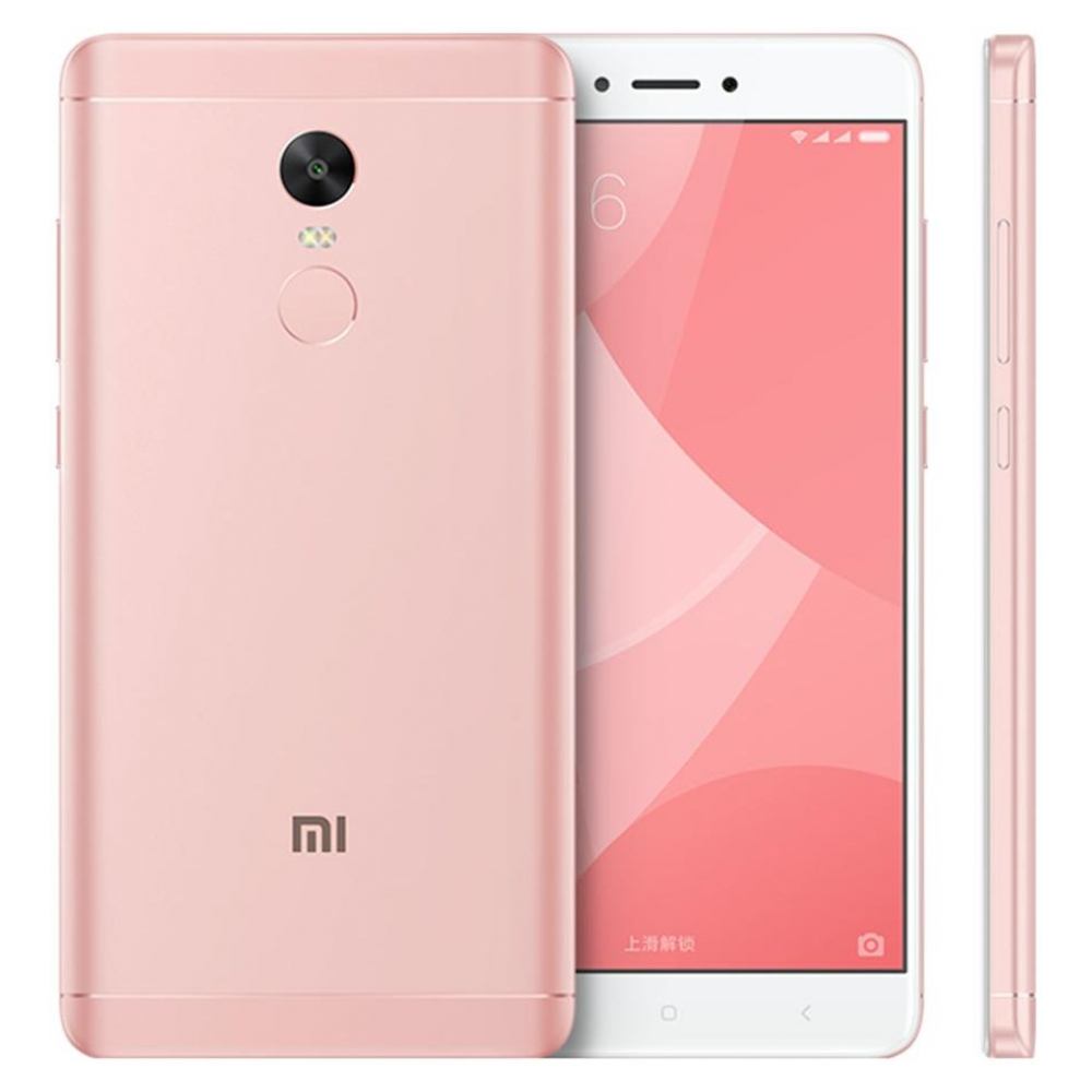 Смартфон Xiaomi Redmi Note 4X 3/16GB Pink