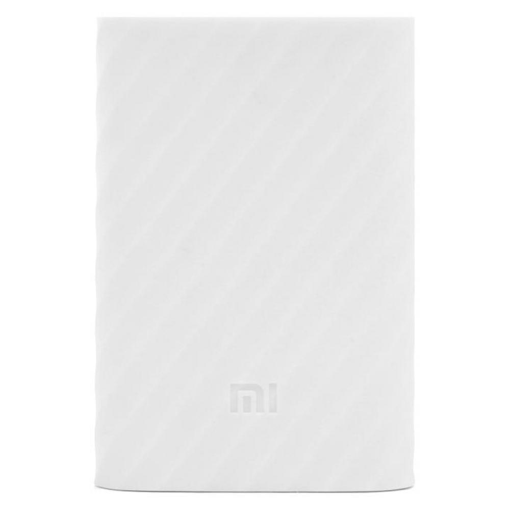 Силиконовый чехол для Xiaomi Power Bank V2 10000mAh White