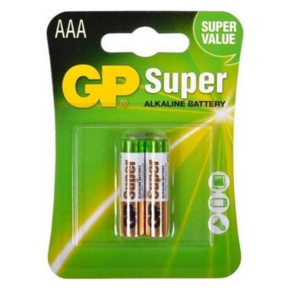 Батарейка AAA (LR-3) GP Super (24A-U2) (2шт)