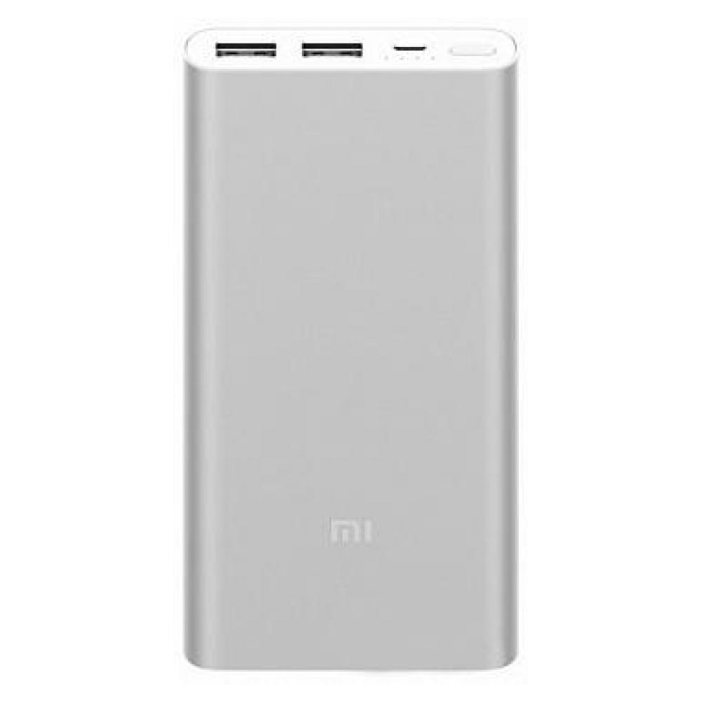 Внешний аккумулятор Xiaomi Mi Power Bank 2i 10000 mAh Silver (VXN4228CN)