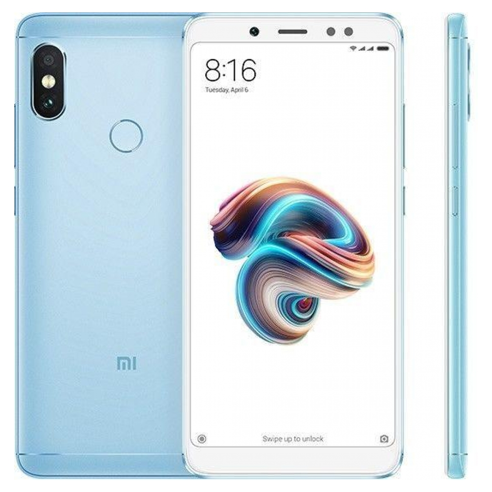 Смартфон Xiaomi Redmi Note 5 4/64GB Blue (Global Version)