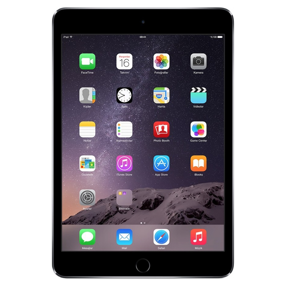 Планшет Apple iPad mini 3 Wi-Fi 16GB Space Gray (MGNR2TU/A) UA UCRF