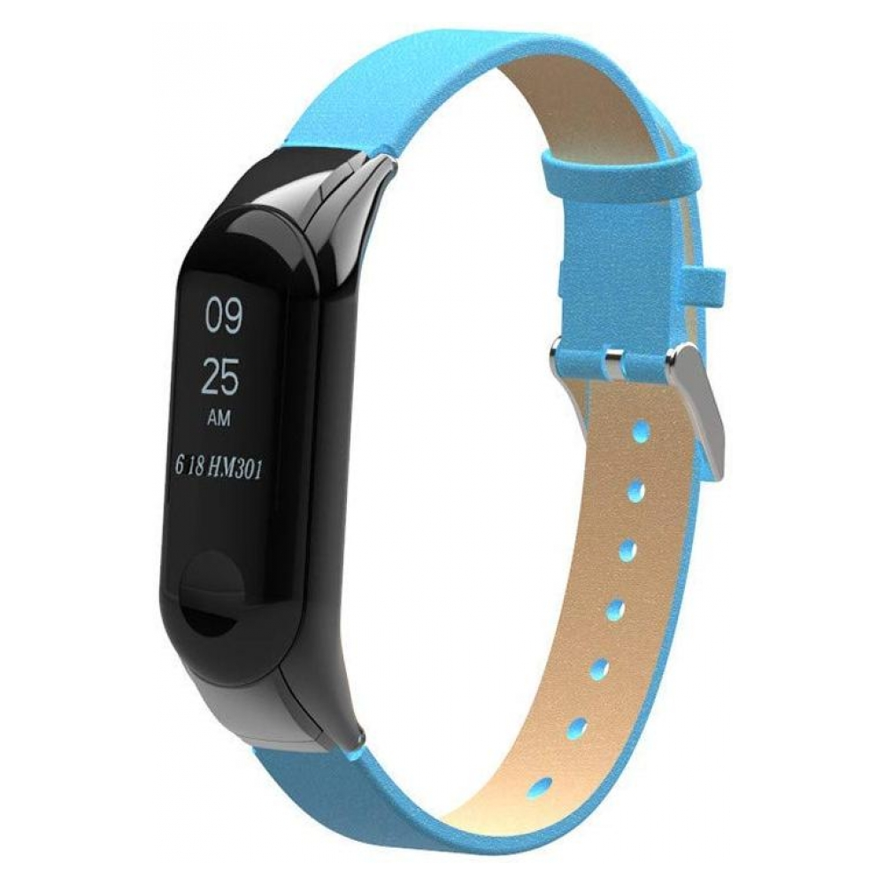 Ремешок ArmorStandart PU Band for Xiaomi Mi Band 3 Blue