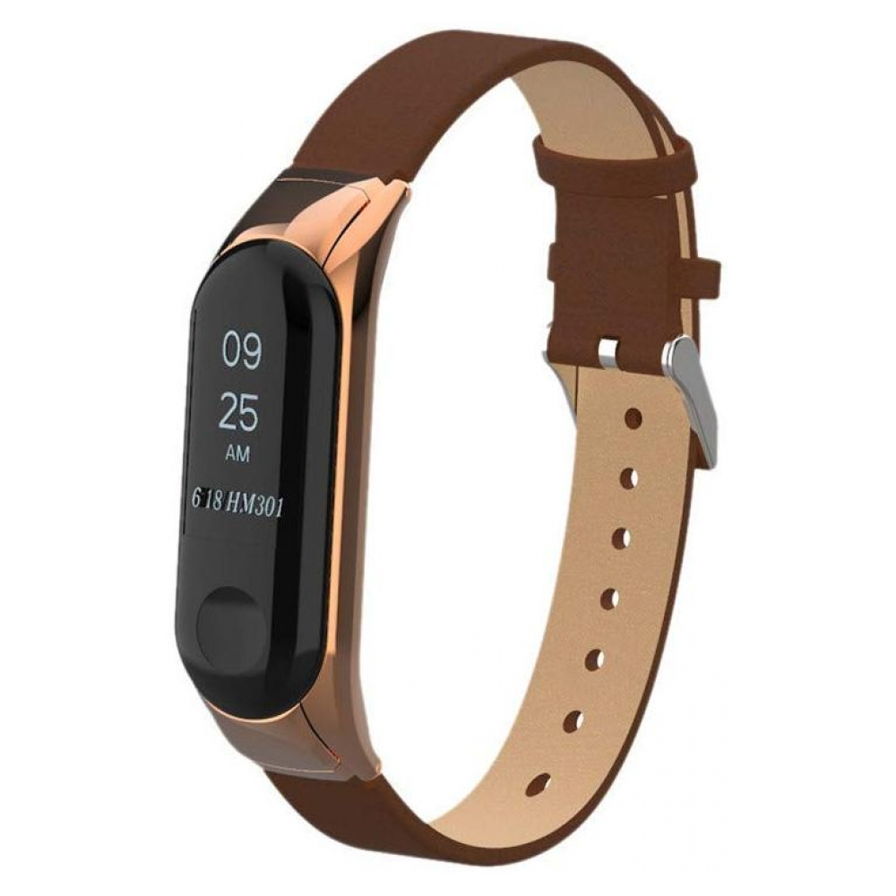 Ремешок ArmorStandart PU Band for Xiaomi Mi Band 3 Brown