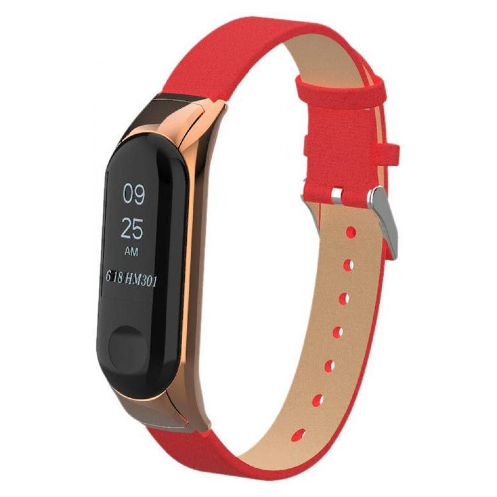 Ремешок ArmorStandart PU Band for Xiaomi Mi Band 3 Red