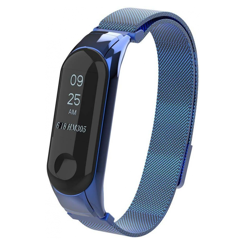 Ремешок ArmorStandart Metal Milanese Magnetic Band for Xiaomi Mi Band 3 Blue
