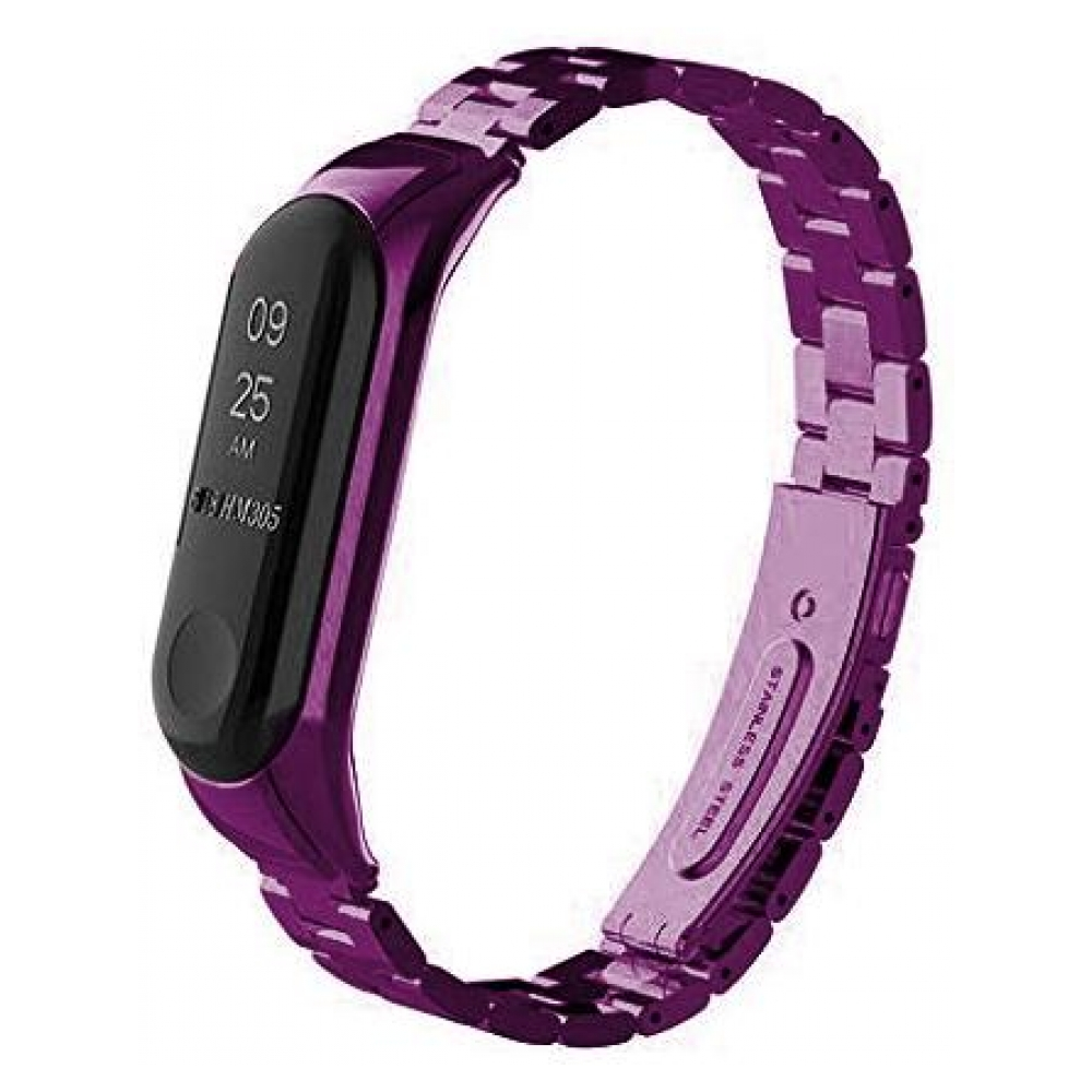 Ремешок ArmorStandart Metal Band for Xiaomi Mi Band 3 Purple