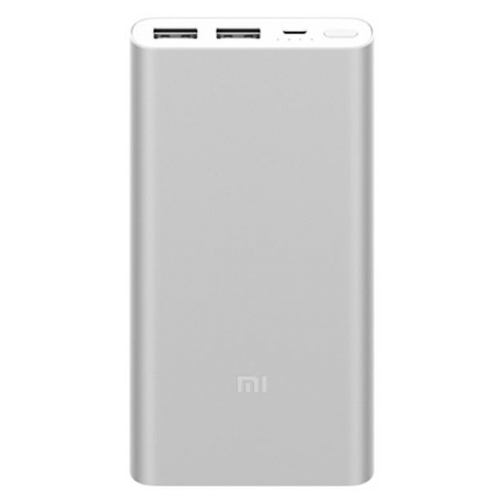 Xiaomi Mi Power Bank 2S 10000mAh with 2USB Silver (VXN4228CN)