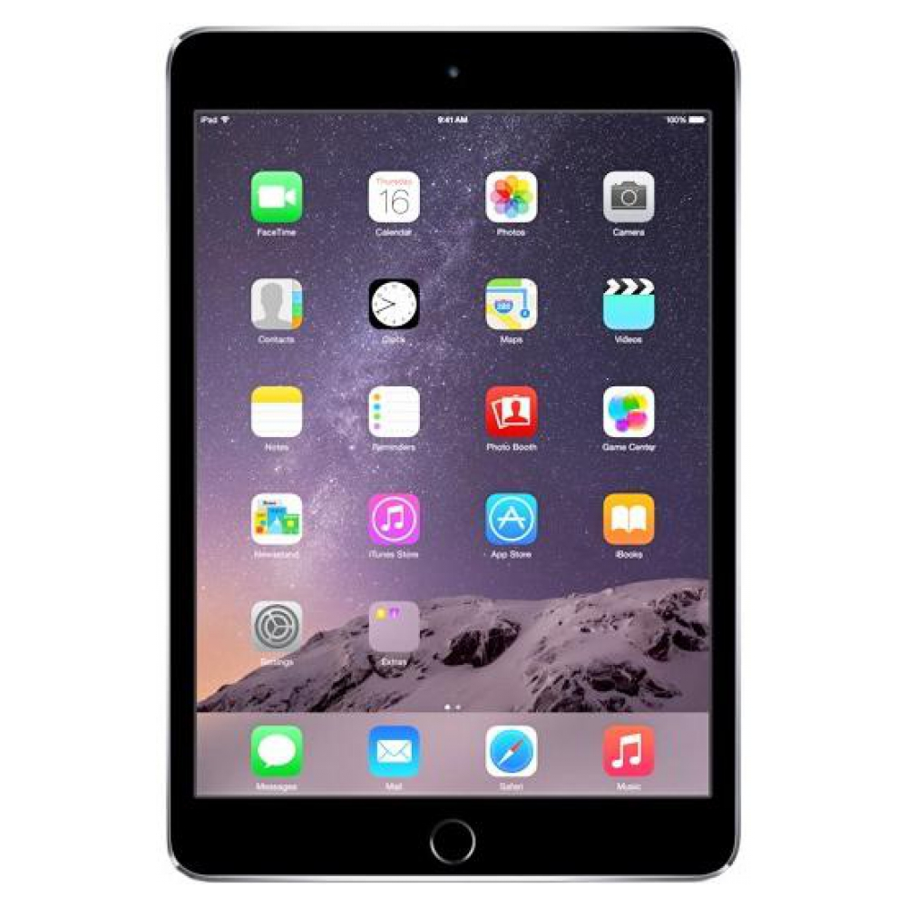 Планшет Apple iPad mini 3 Wi-Fi 4G 16GB Space Gray (MGHV2TU/A) UA UCRF