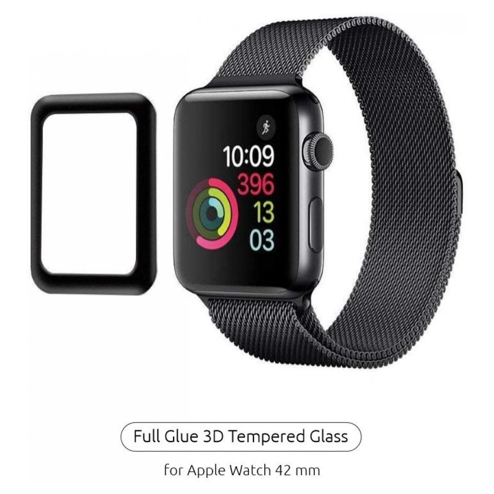 Защитное стекло Armorstandart для Apple Watch Series 1/2/3 42mm Black (ARM52105)