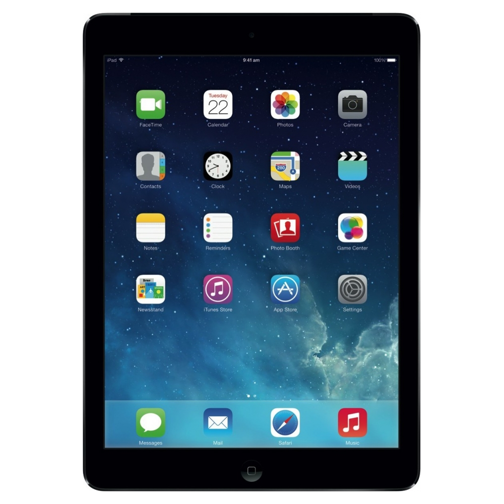 Планшет Apple iPad Air Wi-Fi 4G 16GB Space Gray (MD791TU/A) UA UCRF