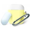 Чехол Armorstandart Duo Hang Case для Apple AirPods Yellow/White/Sea Blue (ARM53763)