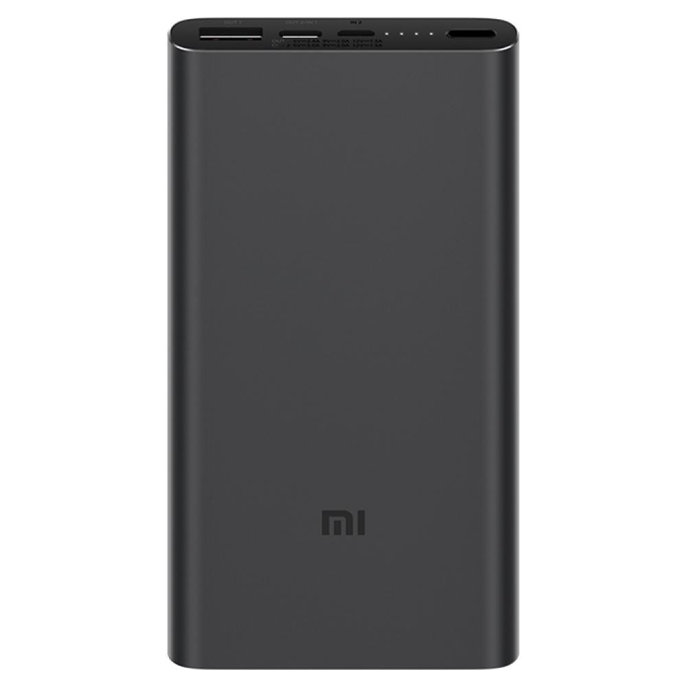 Внешний аккумулятор Xiaomi Mi Power Bank 3 10000mAh Black (PLM13ZM)