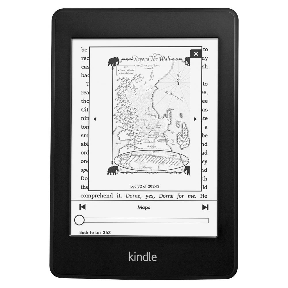 Электронная книга Amazon Kindle Paperwhite 2014 Certified Refurbished