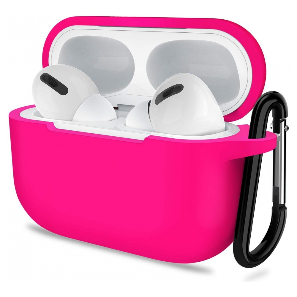 Чехол Armorstandart Silicone Case для Apple Airpods Pro Hot Pink (ARM56077)