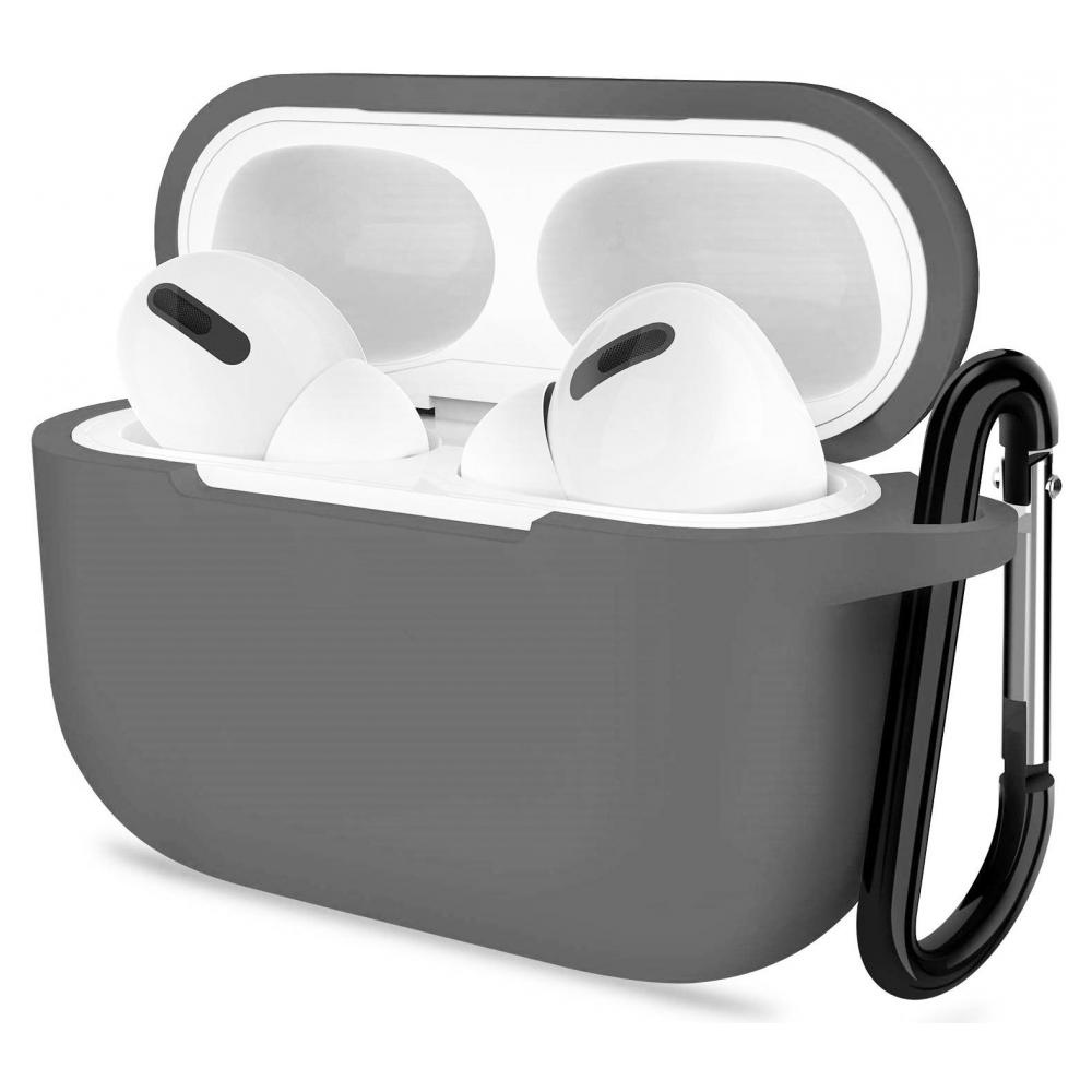 Чехол Armorstandart Silicone Case для Apple Airpods Pro Light Grey (ARM56090)