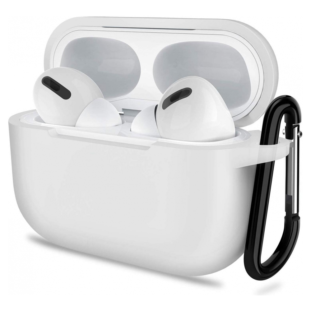 Чехол Armorstandart Silicone Case для Apple Airpods Pro White (ARM56087)